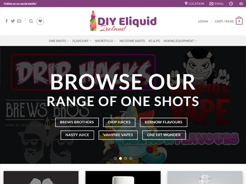 DIY Eliquid Ireland