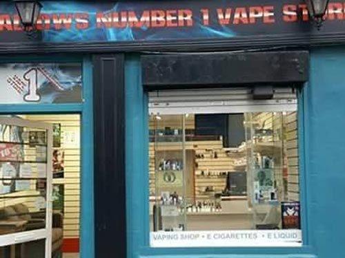 Mallows Number 1 Vape Store - Irish e-Cigs promoting great local